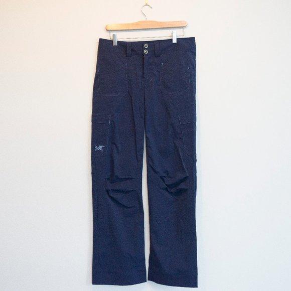 Arc'teryx Nylon Hiking Pants in Blue
